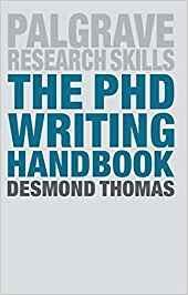 The PhD Writing Handbook (Macmillan Research Skills)