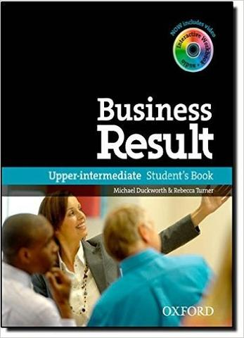 Business Result: Upper-Intermediate Student's Book with DVD-ROM and Online Workbook Pack