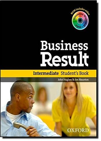Business Result Intermediate Student's Book with DVD-ROM and Online Workbook Pack