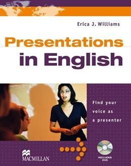 Presentations in English includes dvd