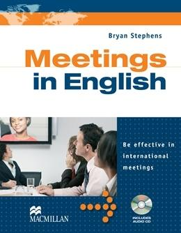 Meetings in English includes Audio CD